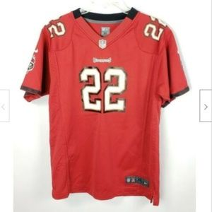 Tampa Bay Buccaneers Jersey T-Shirt Boys XL 18/20
